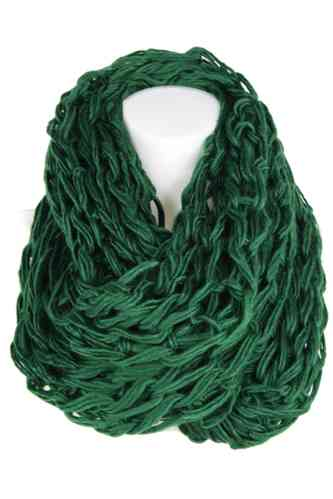 "Ladies Loop Scarf ""Caprinae"" (Petrol)"