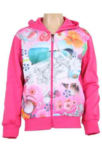 "chaqueta jogging de chicas ""Glasses & Flowers"""