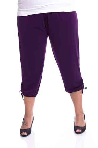 "chokri Big Size Ladies Pants ""Riana"" (Purple)"