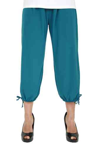 "chokri Big Size Ladies Pants ""Riana"" (Petrol)"