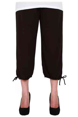 "chokri Big Size Ladies Pants ""Riana"" (Chocolate)"