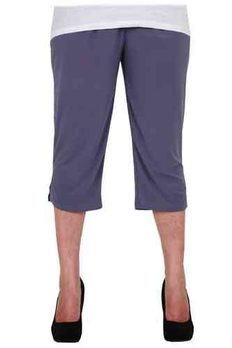chokri Big Size Ladies Capri Leggings (Lavender) (48-60)
