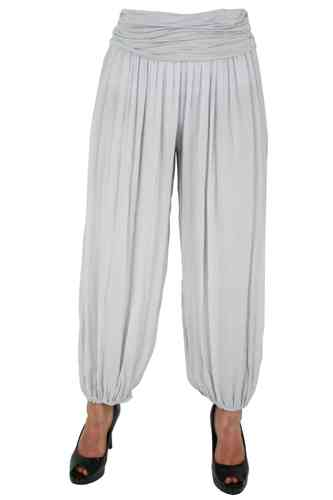 "Ladies Harem Pants ""Noura"" (Light grey)"