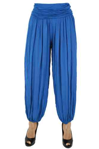 "Ladies Harem Pants ""Noura"" (Royal blue)"