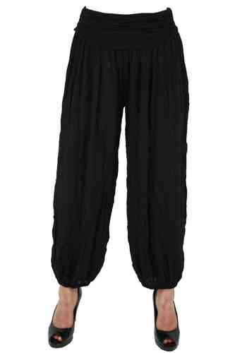 "Ladies Harem Pants ""Noura"" (Black)"