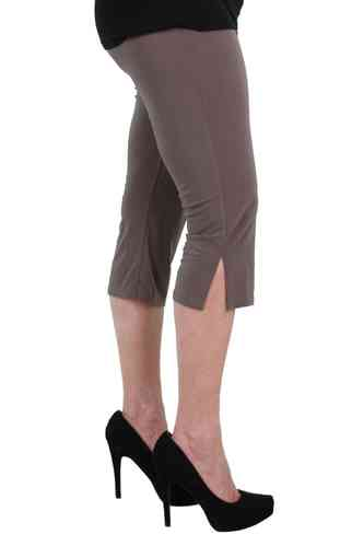 chokri Big Size Damen Caprileggings (Schlamm) (48-60)