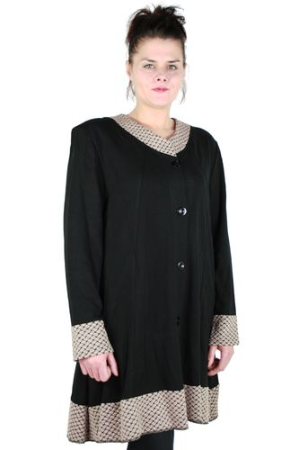 "chokri Big Size Ladies Coat ""Dena"" (48-60)"