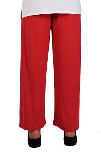 chokri Big Size Ladies Marlene Pants (Red) (48-60)