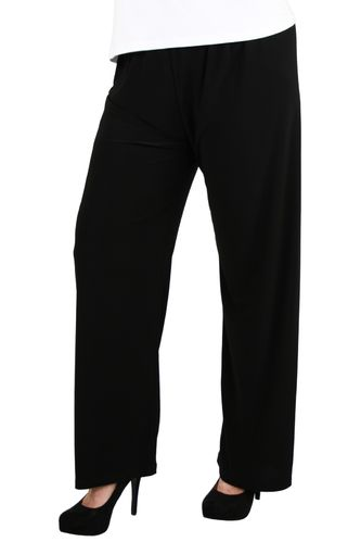 chokri Big Size Ladies Marlene Pants (Black) (62-66)