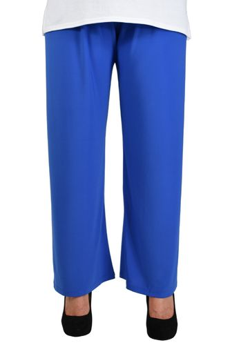 chokri Big Size Ladies Marlene Pants (Blue) (52-60)