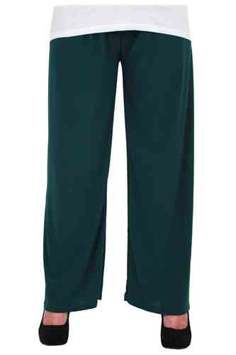 chokri Big Size Ladies Marlene Pants (Green) (50-58)