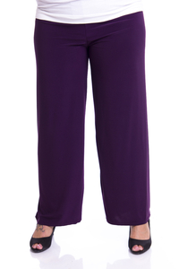 chokri Big Size Ladies Marlene Pants (Purple)
